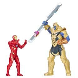 Hasbro Marvel Avengers: Infinity War Iron Man vs. Thanos Battle Set Φιγούρες Δράσης E0559 5010993479535