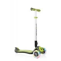 Globber Scooter Elite Flash Light Wheels-Lime Green 445-106 4897070181298