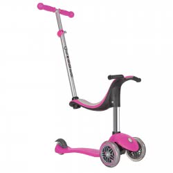 Globber Scooter Evo 4 in 1-Deep Pink 451-110 4897070180758