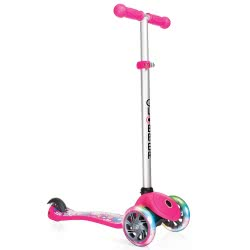 Globber Scooter Primo My Free Fantasy Small Flowers - Liberty Pink 424-008 4897070181410