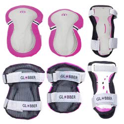 Globber Προστατευτικός Εξοπλισμός Pink XXS(-25kg) 540-110 4897070180239