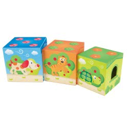 Hape Pepe and Friends Πύργος Της Φιλίας Με Ζωάκια Friendship Tower E0451 6943478016903