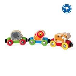 Hape Jungle Journey Train E3807A 6943478015081