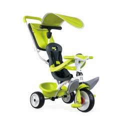 Smoby Παιδικό Ποδήλατο Τρίκυκλο Baby Balade Green 741100 3032167411006