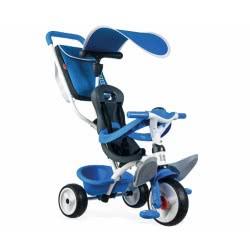 Smoby Παιδικό Ποδήλατο Τρίκυκλο Baby Balade Blue 741102 3032167411020