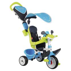 Smoby Kids Bike Baby Confort Blue 3 Σε 1 741200 3032167412003