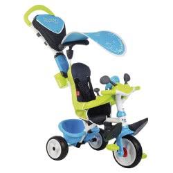 Smoby Παιδικό Ποδήλατο Τρίκυκλο Baby Confort Blue 3 σε 1 741200 3032167412003