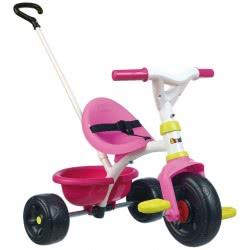 Smoby Παιδικό Τρίκυκλο Ποδήλατο Be Fun Pink 740322 3032167403223