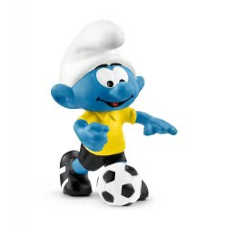 Schleich Football Smurf with Ball 20806 4055744021176