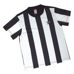 As company Στολή Ποδοσφαίρου Παικταράς Ασπρό-Μαύρη - One Size 1540-932 5203068159320
