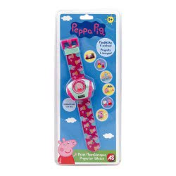 As company Peppa Pig Projector Watch 1027-64138 5203068641382
