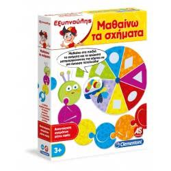As company Εκπαιδευτικό παιχνίδι Εξυπνούλης Μαθαίνω τα σχήματα 1024-63639 8005125636396