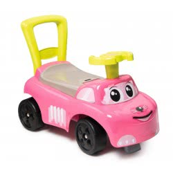 Smoby Auto Ride-On Walker 2 In 1 - Pink 720518 3032167205186