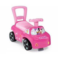 Smoby Minnie Mouse Ride-On Περπατούρα Αυτοκινητάκι 2 Σε 1 - Ροζ 720516 3032167205162