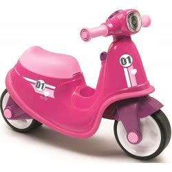 Smoby Scooter Περπατούρα - Ροζ 721002 3032167210029