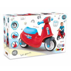 Smoby Scooter Baby Walker - Red 721003 3032167210036