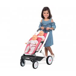 Smoby Maxi Cosi and Quinny Καροτσάκι για Δίδυμες Κούκλες 253298 3032162532980
