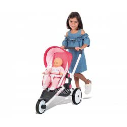 Smoby Maxi Cosi And Quinny Pink Jogger Pushchair 255098 3032162550984
