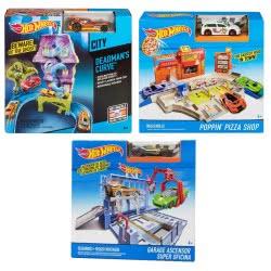 Mattel Hot Wheels Σετ Παιχνιδιού - 3 σχέδια BGH94 746775322427