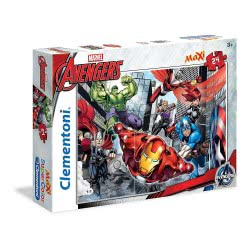 Clementoni Παζλ 24Τεμ. Maxi Super Color Marvel - We Are The Avengers 1200-24036 8005125240364
