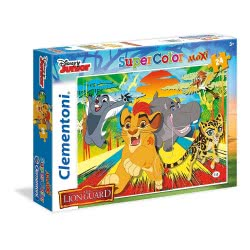 Clementoni Παζλ 24τεμ. Maxi Super Color Η Φρουρά των Λιονταριών: Επική Βοή 24056 8005125240562