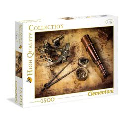 Clementoni High Quality Puzzle 1500pc Treasure Hunt 31808 8005125318087
