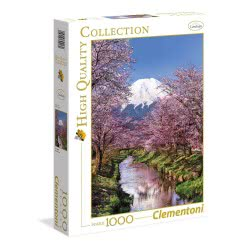 Clementoni Παζλ 1000Τεμ. High Quality Collection Βουνό Fuji 1220-39418 8005125394180