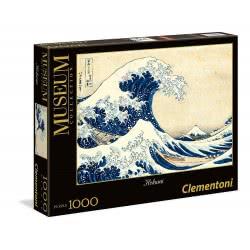 Clementoni Παζλ 1000τεμ. High Quality Collection Museum Hokusai: Το Μεγάλο Κύμα 39378 8005125393787