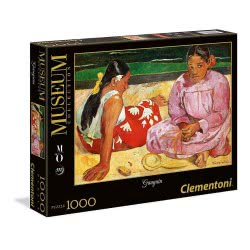 Clementoni Παζλ 1000τεμ. High Quality Collection Museum Γκωγκέν: Ταϊτινές Γυναίκες στην Παραλία 39433 8005125394333