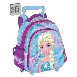Diakakis imports Τσάντα Τρόλλεϋ 3D Frozen Elsa - 3 Θήκες 561964 5205698243981