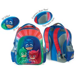 Diakakis imports Τσάντα Πλάτης Backpack 3D PJ Masks 484049 5205698244209