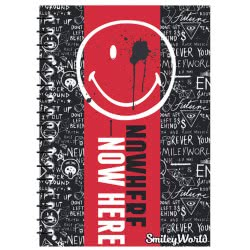 Diakakis imports Spiral Notebook 17x25 Smiley 504717 5205698405198