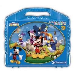 Clementoni Disney-Mickey Mouse Club House 24 Cubes Puzzle 1100-42495 8005125424955