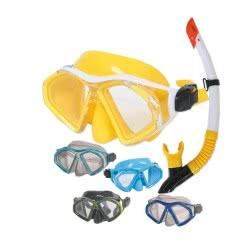 POSEIDON Σετ Μάσκα Και Αναπνευστήρας Skilla - 5 Σχέδια 723997 5200129041129