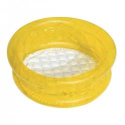Bestway Φουσκωτή Παιδική Πισίνα Bebe Μονόχρωμη(πορτοκαλί, κίτρινη ή μπλε) 64x25εκ. - 3 Χρώματα 51112 6942138905625