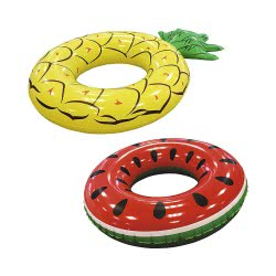 Bestway Inflatable Ring Pineapple Or Watermelon - 2 Designs 36121 6942138945522