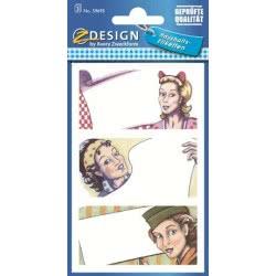 ZDesign Αυτοκόλλητα Ζ Design Home Eτικέτες 59695 4004182596951