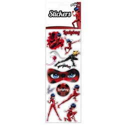 Stamco Miraculous Ladybug Large Sticker Sheet CYP05793 8426842057934