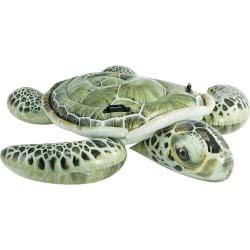 INTEX Φουσκωτή Χελώνα με φωτορεαλιστική εκτύπωση Realistic Sea Turtle Ride-On 57555 6941057402994