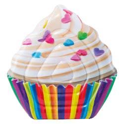 INTEX Φουσκωτό Στρώμα σε Σχήμα Γλυκού Cupcake 58770 6941057407838