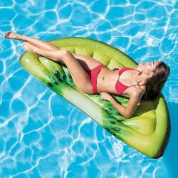 INTEX Kiwi Slice Inflatable Mat with Realistic Printing 58764 078257587643