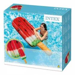 INTEX Φουσκωτό Στρώμα σε Σχήμα Παγωτό-Ξυλάκι Καρπούζι 58751 6941057407531