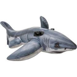 INTEX Φουσκωτό Great White Shark Ride-On 173x107εκ 57525 078257575251