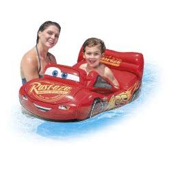 INTEX Φουσκωτό Παιδικό Αυτοκινητάκι Cars Cruiser 109x71εκ 58392 6941057407395