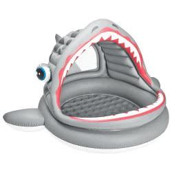 INTEX Πισίνα Καρχαρίας με τέντα 201x198x109εκ 57120 6941057451206