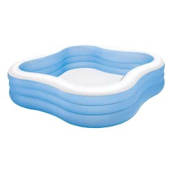 INTEX Πισίνα Beach Wave Swim Center Pool 229x229x56εκ 57495 6941057402574