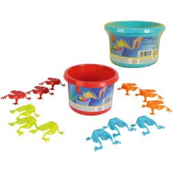 ANDRONI Giocattoli Kids Game Jumping Frogs - 2 Colours 7930-0005 8000796079305