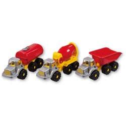 ANDRONI Giocattoli Smart Construction Trucks 36Cm - 3 Designs 6204-000T 8000796062048