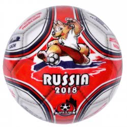 star Plastic Soccer Ball Mundial 2018 Russia, 11cm 10/969 5202522009690