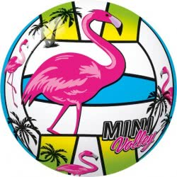 star Plastic Volley Ball Flamingo - Tukan - Unicorn 11Cm - 3 Designs 10/971 5202522009713